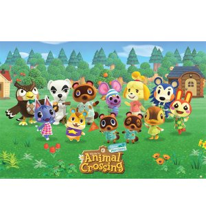 Plakát Animal Crossing (Lineup)