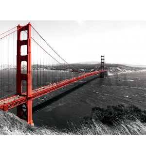 Fotótapéta: Golden Gate Bridge (1) - 184x254 cm