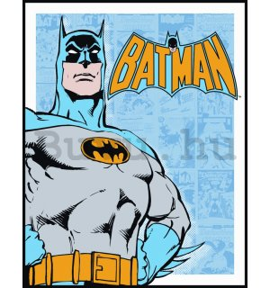 Fémplakát - Batman (Retro Panels)