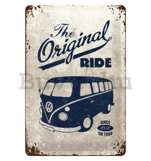 Fémtáblák – VW The Original Ride (szürke)