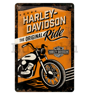Fémtáblák – Harley-Davidson (The Original Ride)