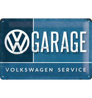 Fémtáblák – VW Garage