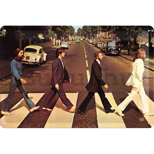 Fémtáblák - Beatles (Abbey Road)