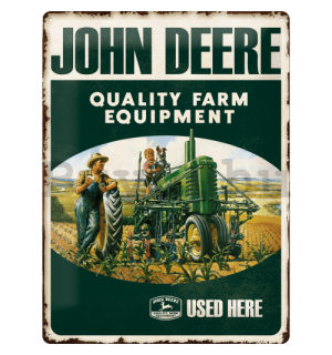 Fémtáblák – John Deere (Quality Farm Equipment)