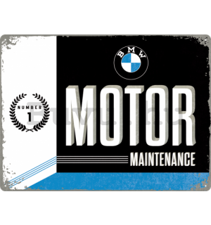 Fémplakát - BMW Motor Maintenance