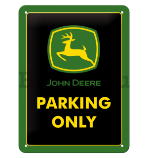 Fémplakát - John Deere Parking Only