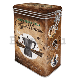 Fémdoboz csatos - Coffee House