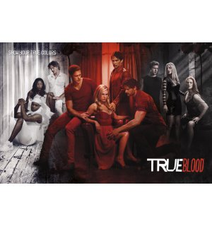 Plakát - True Blood (Show Your True Colours)