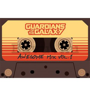 Plakát - Guardians of the Galaxy (Awesome Mix Vol.1)
