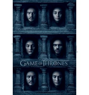 Plakát - Game of Thrones (Hall of Faces)
