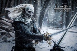 Plakát - Game of Thrones (White Walker)