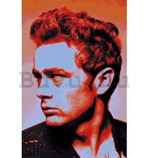 Plakát - James Dean popart