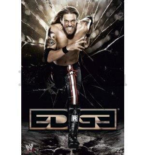 Plakát - WWE edge running