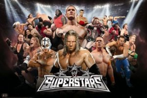 Plakát - WWE superstars 10