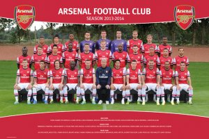 Plakát - Arsenal (Team foto 13/14)